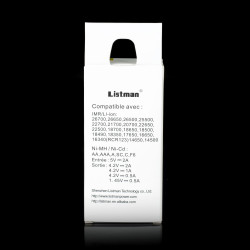 Listman battery charger L1 2A