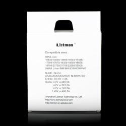 Chargeur d'accus Listman L4, 2A