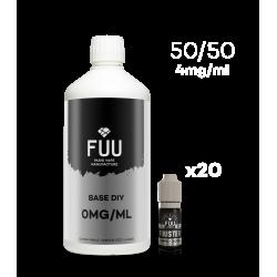 Pack 1L 50/50 4mg/ml