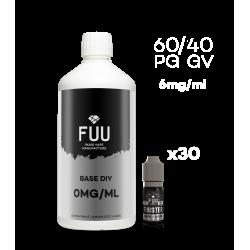Pack 1L 60/40 6mg/ml