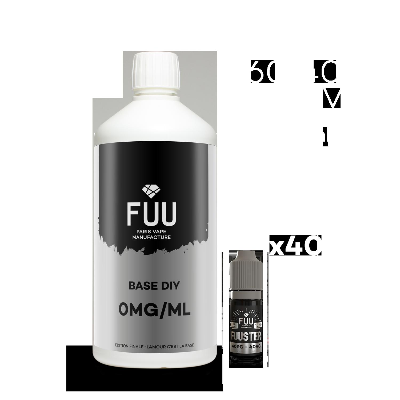 Pack 1L 60/40 8mg/ml