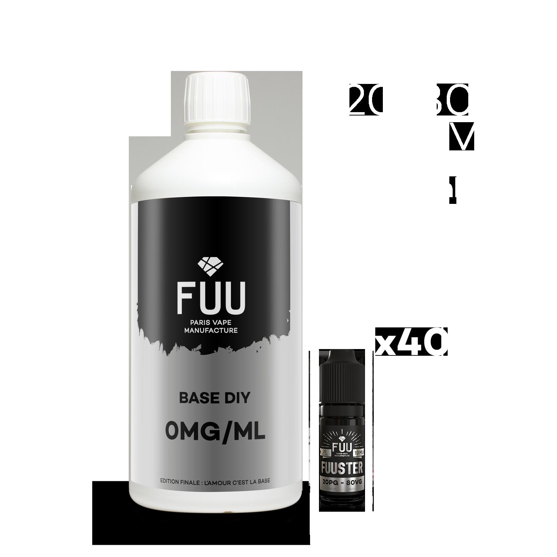 Pack 1L 20/80 8mg/ml