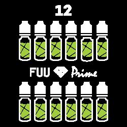 Pack 12 liquides FUU Prime