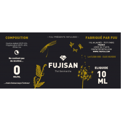 eliquid fujisan the fuu 10ml 0mg