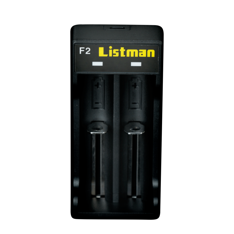 Chargeur d'accus Listman F2, 2A