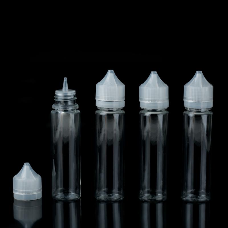 Pack de 4 bouteilles vides 60ml