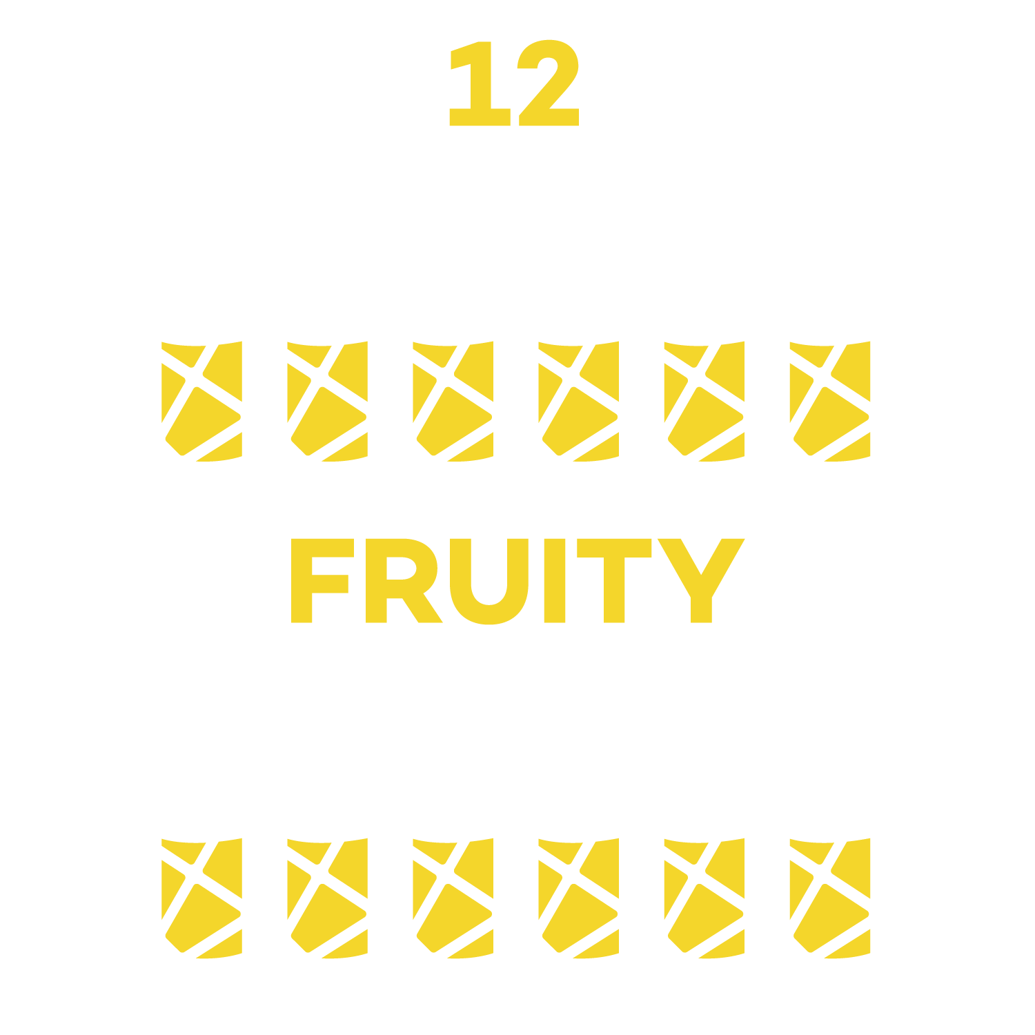 12-pack Silver Fruity