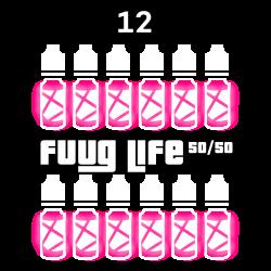 Pack 12 liquides Fuuglife...