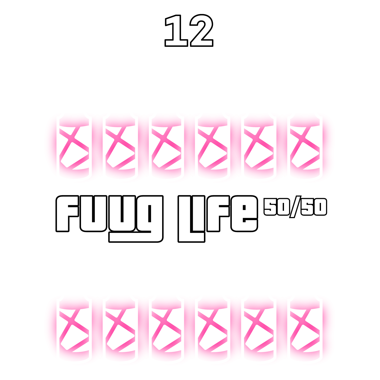 12-pack Fuuglife 50/50