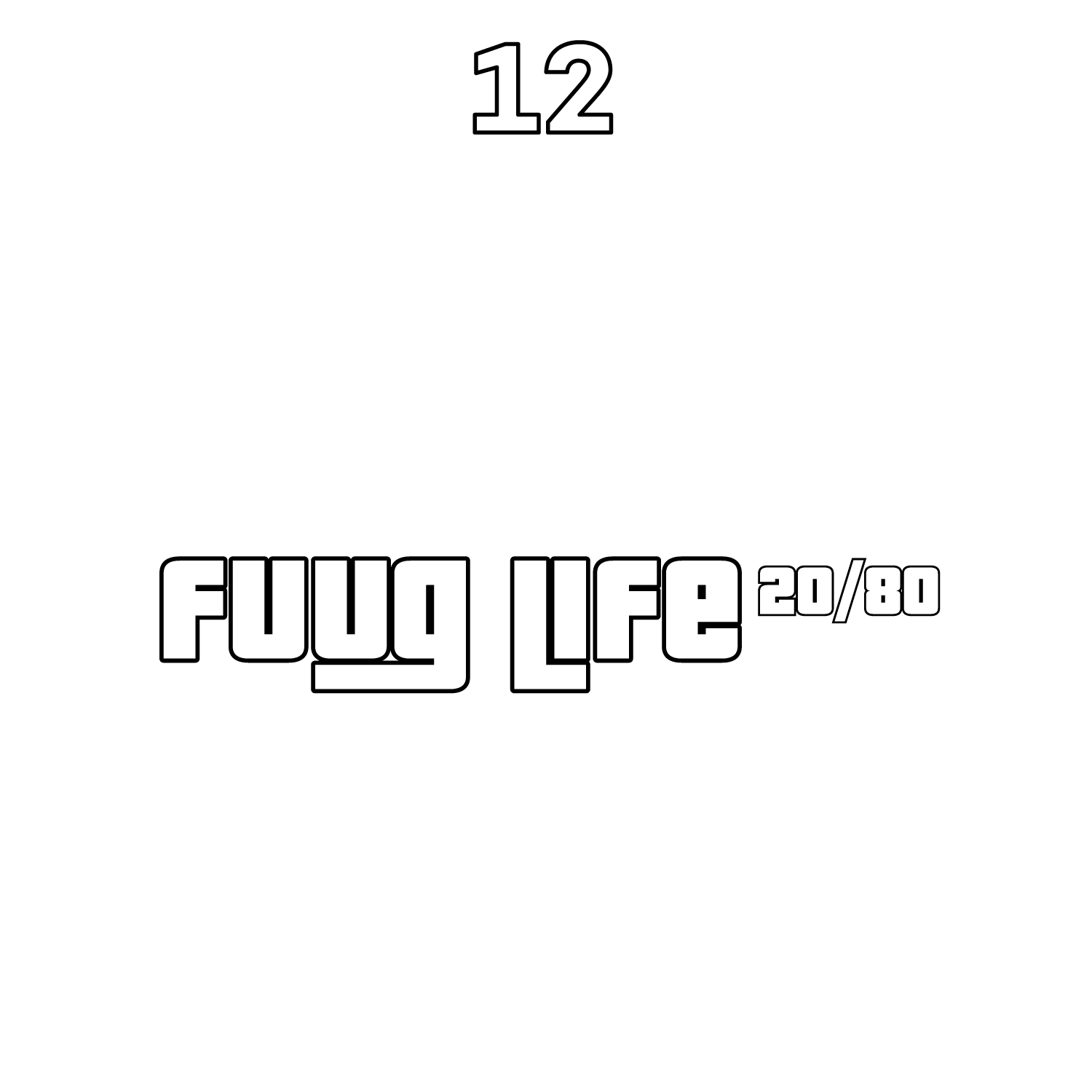 12-pack Fuuglife 20PG/80VG