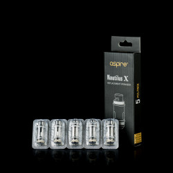 Pack de 5 résistances Aspire Nautilus X U-Tech