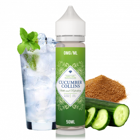 Cucumber Collins | Spécialités | Eliquide 50ml