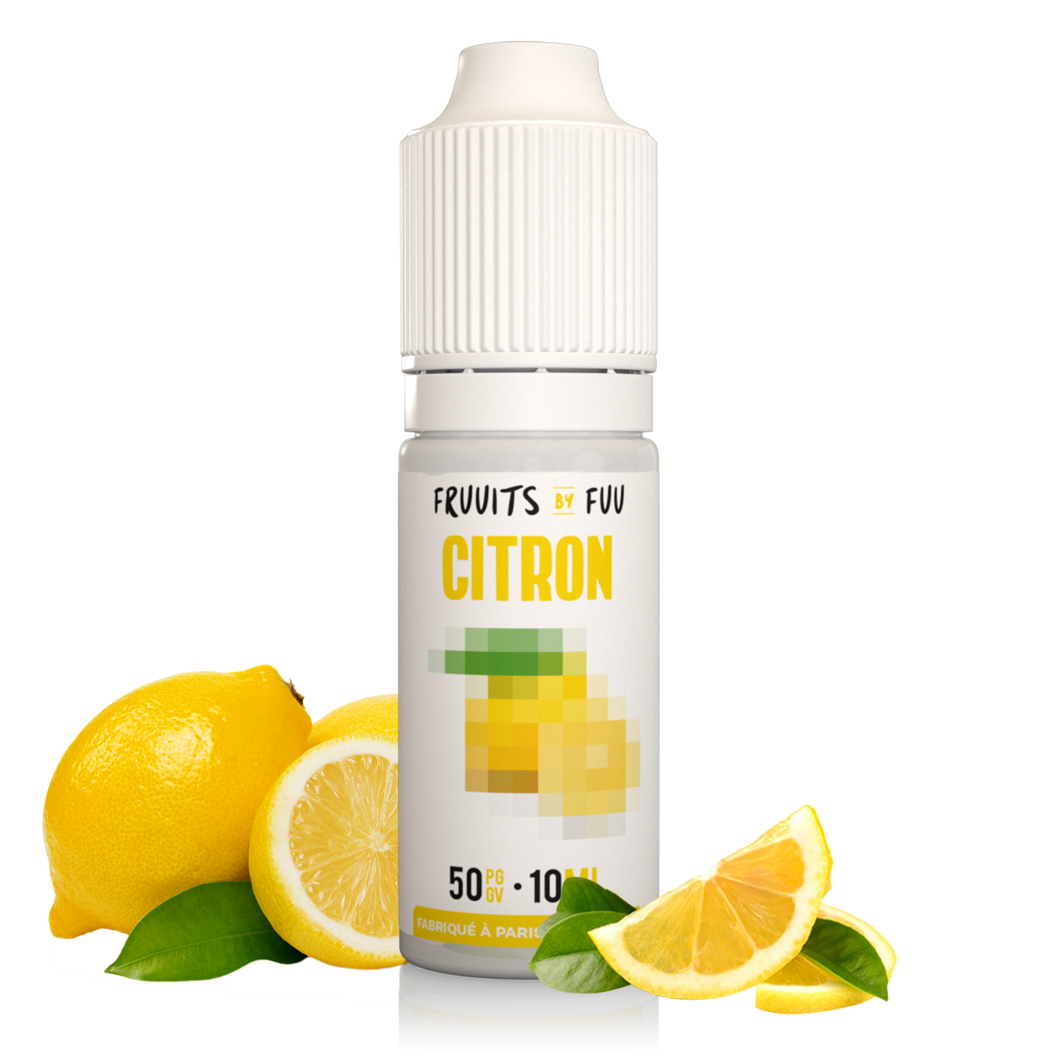 Citron| Fruuits by Fuu| Eliquide 10ml