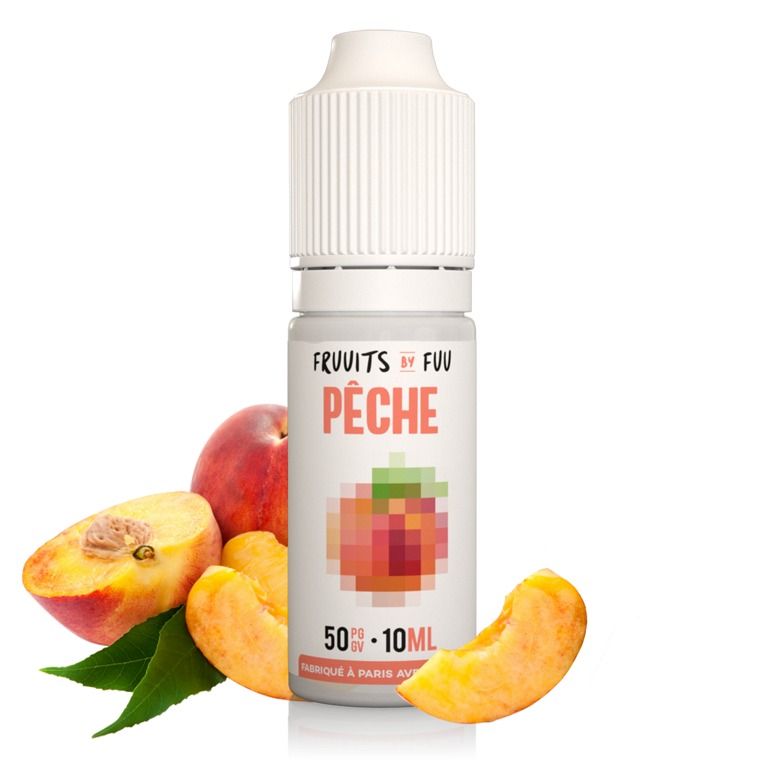 Pêche| Fruuits by Fuu| Eliquide 10ml