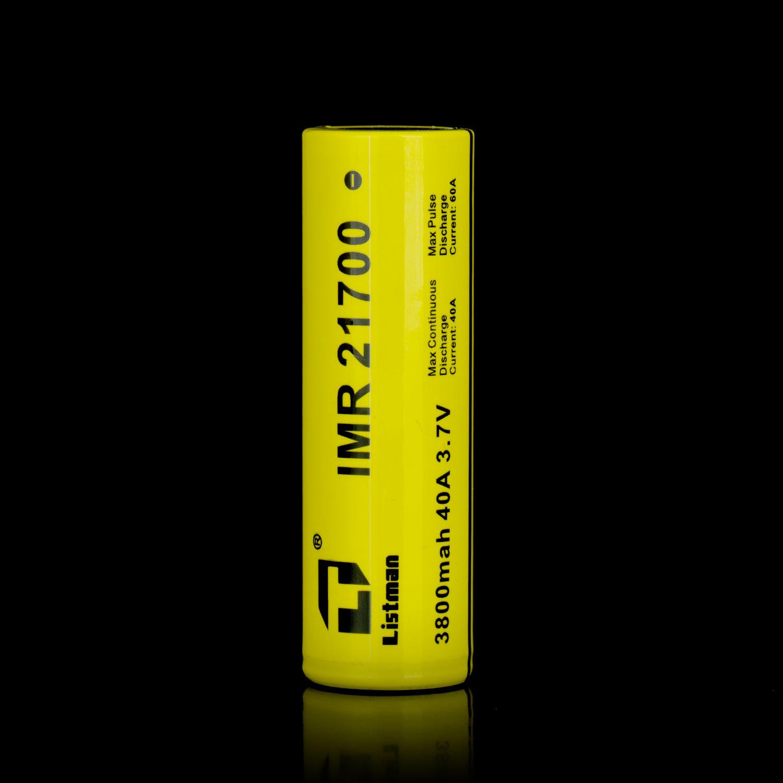 Listman 21700 3800mAh 40A Battery