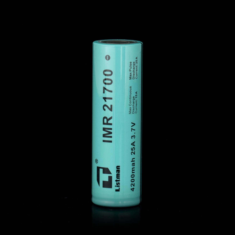 Listman 21700 4200mAh 25A Battery