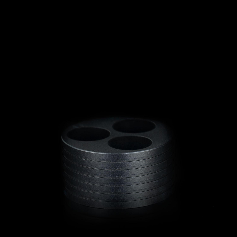 Battery holder trio
