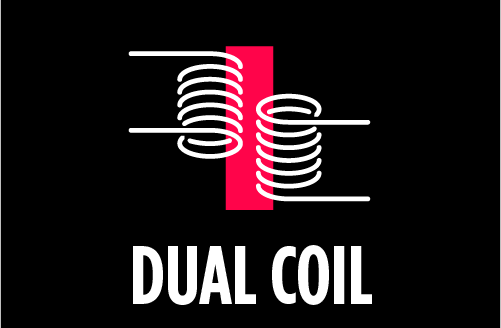 Atomizer type : Dual Coil