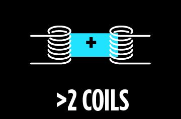 Atomizer type :  more than 2 Coils