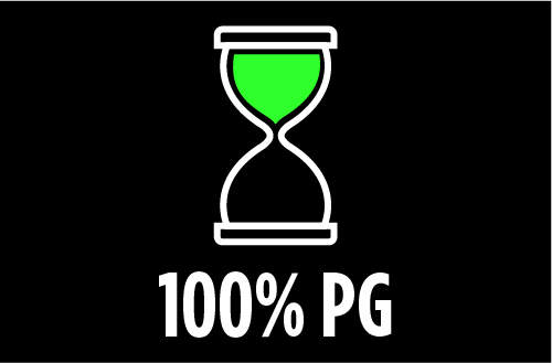 Ratio PG/GV : 100% PG