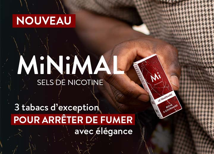 MiNiMAL 3 tabacs d'exception